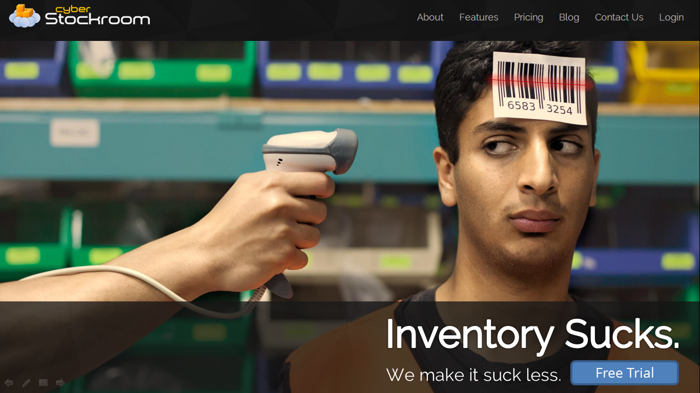 Our New Homepage (cyberstockroom.com)